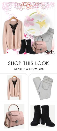 """SheIn 8/ XVIII"" by emina-095 ❤ liked on Polyvore featuring Current/Elliott and shein"
