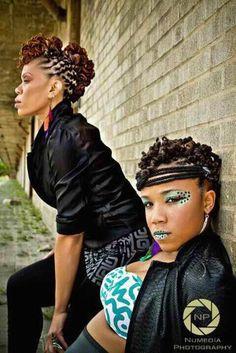 loc styles for women ~ loc hawk