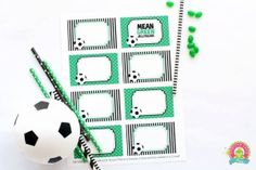 Free SOCCER Buffet Printables by Forever Your Prints