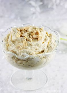 Nut cream with mascarpone. Ice Cream, Mascarpone, No Churn Ice Cream, Icecream Craft, Ice, Gelato