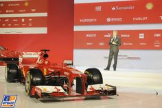 Ferrari, Formula 1 launch Ferrari,  1 February 2013, Formula 1