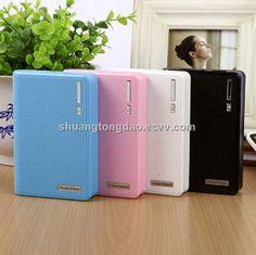 12000mAh portable power bank recharge for mobile ipod iphone - China 12000mAh portable power bank