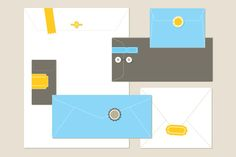 Check out Envelopes by EightHourDay on Creative Market
