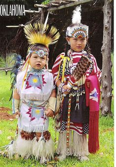 US | Oklahoma | Native American children by duffeli, via Flickr
