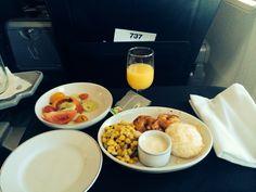 Best lookin airplane food ive seen