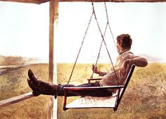 View The swinger by Andrew Wyeth on artnet. Browse upcoming and past auction lots by Andrew Wyeth. Jamie Wyeth, Andrew Wyeth Paintings, Andrew Wyeth Art, Edward Hopper, Nc Wyeth, Seattle Art Museum, American Artists, Image, Nobel Prize
