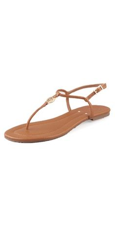 86f5d5bef2f Tory Burch Emmy Flat Thong Sandals  http   rstyle.me ~