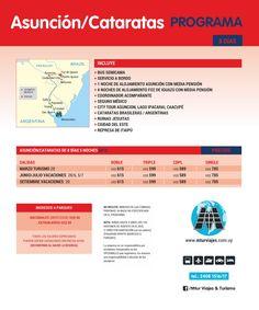 Asunción - Cataratas   Salidas: Fechas - Precios - Itinerarios - Opcionales