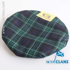 MacCallum modern Tartan Cap. Free worldwide shipping available