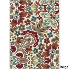 Decora Transitional Area Rug (7'10 x 10'3) - Overstock™ Shopping - Great Deals on 7x9 - 10x14 Rugs
