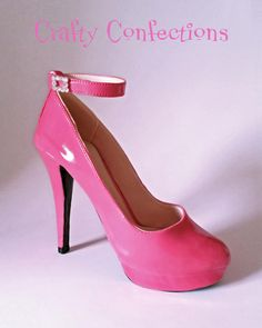 Sugar stiletto with ankle strap