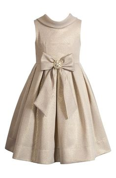 Gold dress for flower girls