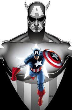 Captain America by John Cassaday