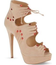 Charlotte Olympia Hands on sandals Nude