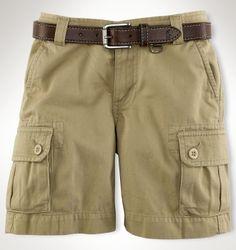 Gellar Cotton Cargo Short