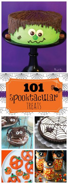 101 Spooktacular Treats | www.somethingswan...