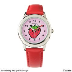 Strawberry Red Watches