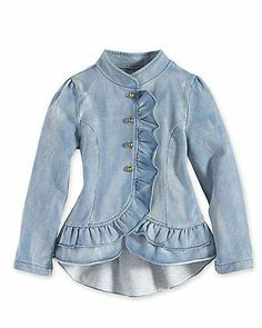 Our delightful collection of girls clothing will have her twirling and laughing in no time. African Dresses For Kids, Little Girl Dresses, Denim Fashion, Look Fashion, Fashion Outfits, Baby Girl Fashion, Kids Fashion, Culottes, How To Wear Scarves