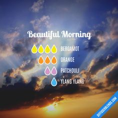 Beautiful Morning - Essential Oil Diffuser Blend