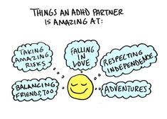 Dating someone with ADHD can come with a lot of benefits.
