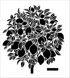 Tree stencils from The Stencil Library. Stencil catalogue quick view page 5.