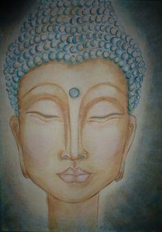 Buddha Girl - Art by Kim Wilkowich