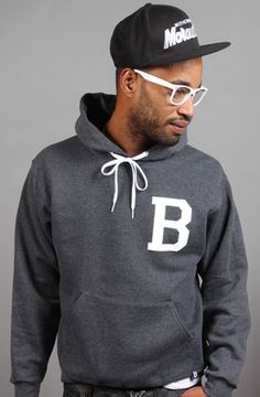 BEST Charcoal Hoodie by Breezy Excursion at karmaloop.com