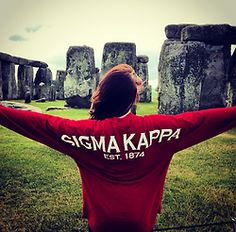 traveling ΣK ❥ definitely a sister from the Theta O chapter <3