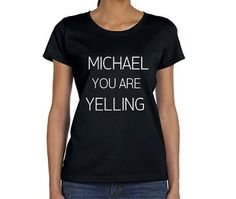 Michael You Are Yelling Shirt, 5SOS Band Tshirt, Michael Clifford 5 Seconds of Summer T-Shirt, Fangirl Shirt, Black Grey White Adult Tshirt $20.19+