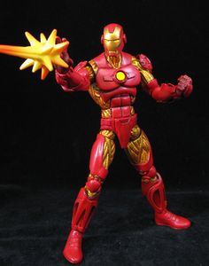 Iron Man - Custom action figure made by John Mallamas
