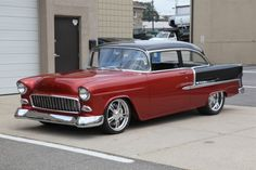 '56 Chevy BelAir -Kreations Auto Body record holder for highest Tri-5 sold @ Barrett-Jackson
