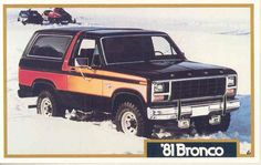 1981 Ford Bronco. Can I please have you right now?