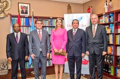 "drubles-bestgum1: "" Queen Maxima in NYC at UN Special Advocate for Special Financial Services,. March 13, 2017 """