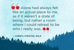 alone....