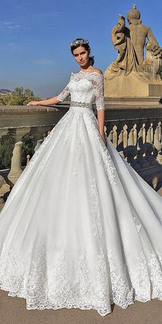 Crystal Design 2016 Wedding Dresses Collection ❤ See more: http://www.weddingforward.com/crystal-design-2016-wedding-dresses-collection/ #weddings