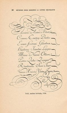 French Letters 1790: lettre deco p22 by pilllpat (agence eureka), via Flickr