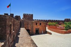 Adventurous Travels: Algarve in Portugal - where Europe comes to an end, Silves Castle, Algarve