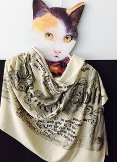 Romeo and Juliet Literary Book Scarf