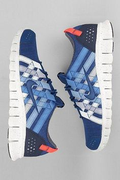 Nike Free Powerlines+ Sneaker: Blue Mens Sneakers