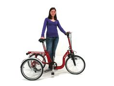Folding Mopeds, Folding Tricycles and Folding Bicycles DI BLASI: Pictures