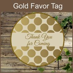 This listing is for one PRINTABLE PDF file. You will get a PDF file to print on letter size 8.5 x 11 The file has 12 stickers of 2.5 inches. 1. Print onto heavy white paper... #etsy #weddings #gold