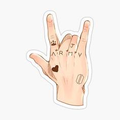 Pop Stickers, Tumblr Stickers, Printable Stickers, Macbook Decal Stickers, Kawaii Stickers, Bts Tattoos, Hand Tattoos, Korean Stickers, Kpop Diy