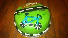 Tarta bicicleta Juanma