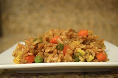 Better Than Takeout… Homemade Fried Rice! This recipe is so good! My family just LOVES it!