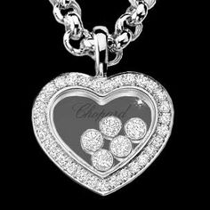 2 ct diamond heart pendant in 14k white gold bling bling chopard floating diamond necklace aloadofball Gallery