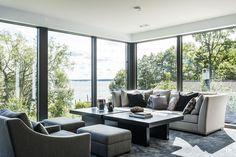 intressantahus-tido-07 Outdoor Furniture Sets, Outdoor Decor, New Homes, Villa, Architecture, Houses, Sea, Future, Home Decor