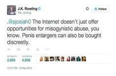 J.K. Rowling Just Served This Epic Clapback To A Hater On Twitter