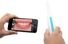 Wireless Wi-Fi Intraoral Camera - 6 LED lights, Free App control for iOS + Android Devices