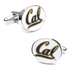 California Golden Bears Logo Cuff Links, Men's, multicolor