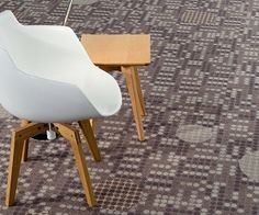 Theory 2.0 carpet by Milliken